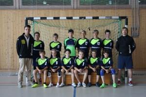 Die C2-Jugend des SC Eching Handball 2013/2014