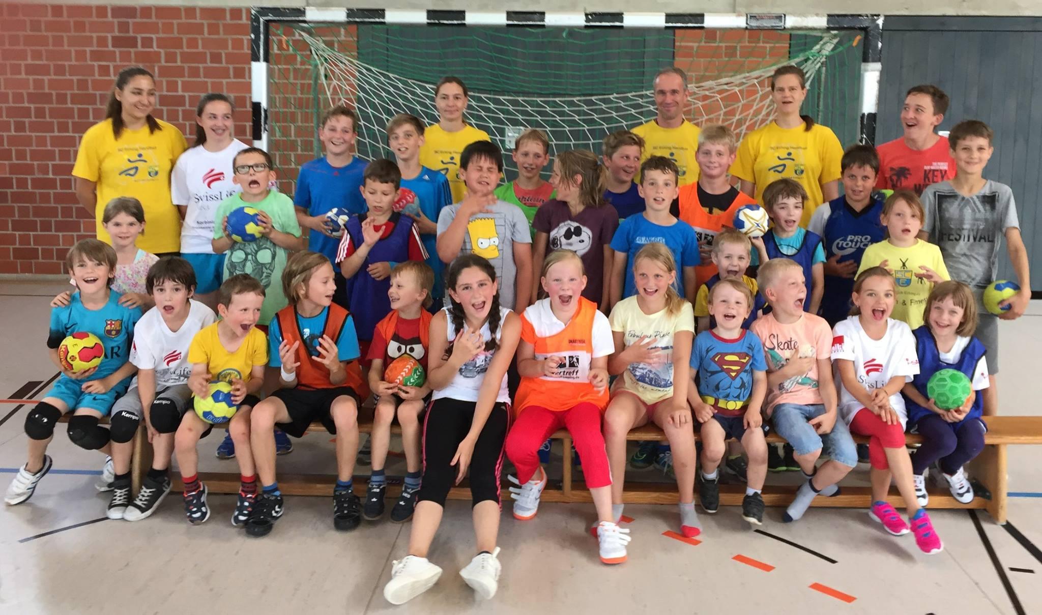 Frühförderung – ein Angebot des Handballverbandes